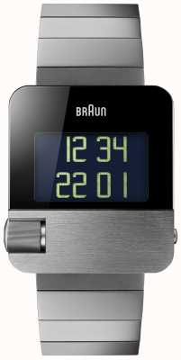 Braun Männer | Prestige | digital | schwarzes Armband BN0106BKBTG