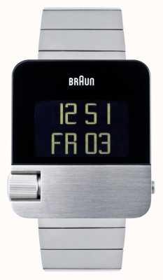 Braun Männer | Prestige | digital | Edelstahlarmband BN0106SLBTG