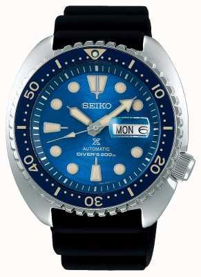 Seiko Prospex Herren mechanisch | rette den Ozean | schwarzer Radiergummi SRPE07K1