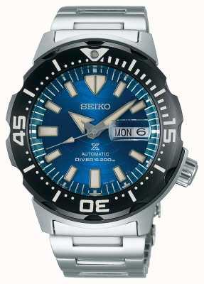 Seiko Prospex Herren mechanisch | rette den Ozean | blaues Zifferblatt SRPE09K1