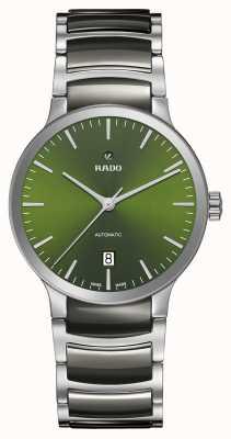 RADO Centrix automatisches grünes Hightech-Keramikzifferblatt R30010312