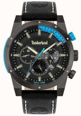 Timberland Männer | sherbrook | schwarzes Lederband | schwarzes Zifferblatt 15951JSU/02
