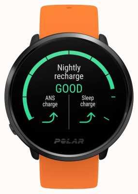 Polar | zünden | orange Kautschukband | GPS-Herzfrequenzmesser | m / l 90081718