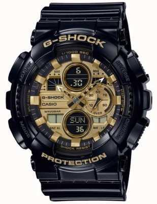 Casio G-Schock Weltzeit | schwarzes Kautschukband | GA-140GB-1A1ER