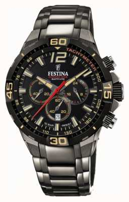 Festina Chrono Bike 2020 Limited Edition graues Stahlarmband F20527/1