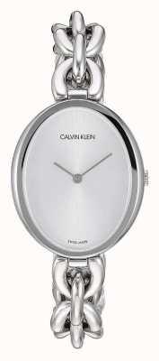 Calvin Klein | Frauenaussage | Edelstahlkettenarmband | K9Y23126