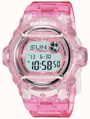 Casio Digitalanzeige des Baby g rosa Riemens BG-169R-4ER