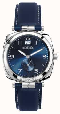 Michel Herbelin Newport Unisex blaues Zifferblatt / Armband 18264/AP15BL