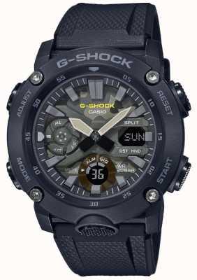 Casio G-Schock | Kautschukband | Tarnzifferblatt GA-2000SU-1AER
