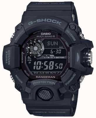 Casio G-Schock Rangeman | Verdunkelungsschutz Solarfunkgesteuert | GW-9400-1BER