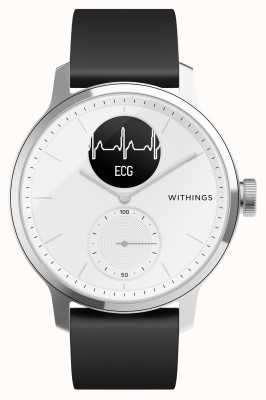 Withings Scanwatch 38mm weiß - Hybrid Smartwatch mit EKG HWA09-MODEL 1-ALL-INT