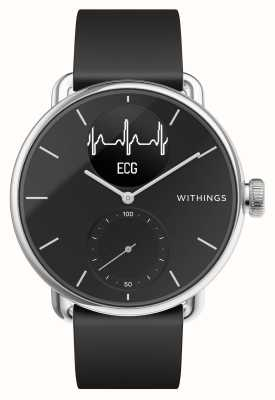 Withings Scanwatch 38mm schwarz - Hybrid Smartwatch mit EKG HWA09-MODEL 2-ALL-INT
