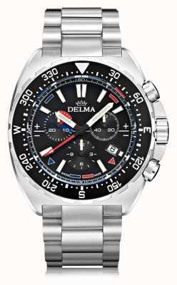 Delma Oceanmaster Quarz Chronograph | Edelstahlarmband 41701.678.6.038