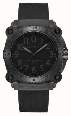 Hamilton Tenet Uhr unter Null limitierte Auflage rot gebraucht H78505332