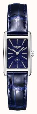 Longines Dolce vita | Frauen | Schweizer Quarz | blaues Leder L52554932
