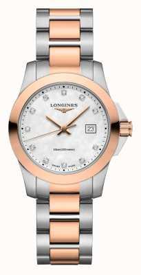 Longines | Eroberungsklassiker | Frauen | Schweizer Quarz | zweifarbig L33763887