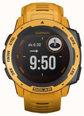 Garmin Instinkt Solar GPS Sunburst Kautschukband 010-02293-09