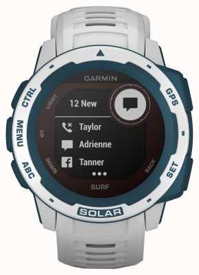 Garmin Instinct Solar GPS Surf Edition Cloudbreak Kautschukband 010-02293-08