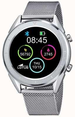 Lotus Männer | smartime | Edelstahlgewebe + freies Armband 50006/1