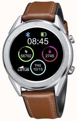 Lotus Männer | smartime | braunes Lederband + freies Armband 50008/1