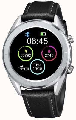 Lotus Smartime | Männer | schwarzes Lederband + freies Armband L50008/3