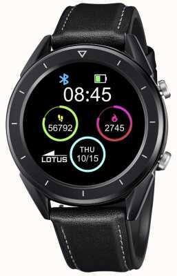Lotus Männer | smartime | schwarzes Lederband + freies Armband 50009/1