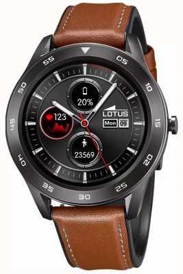 Lotus Männer | smartime | braunes Lederband + freies Armband 50012/1