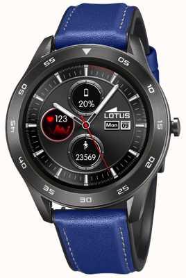 Lotus Männer | smartime | blaues Lederband + freies Armband 50012/2