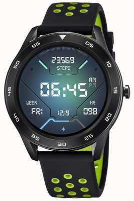 Lotus Männer | smartime | schwarzes Silikonband + freies Armband 50013/1