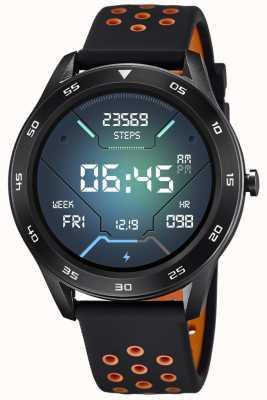 Lotus Männer | smartime | schwarzes Silikonband + freies Armband 50013/2