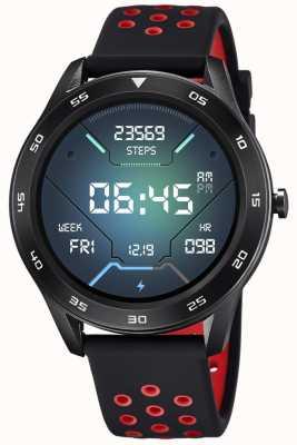 Lotus Smartime | Männer | schwarzes Silikonband + freies Armband L50013/4