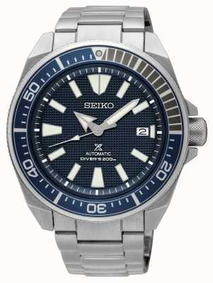 Seiko Prospex | automatische Taucher 200m | blaues Zifferblatt aus Edelstahl SRPF01K1