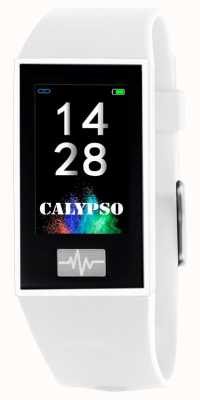 Calypso Unisex | smartime | weißes Silikonband + freies Armband K8500/1