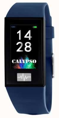 Calypso Unisex | smartime | blaues Silikonband + freies Armband K8500/5
