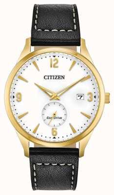 Citizen Eco-Drive Gold PvD Fall | schwarzes Lederband BV1112-05A