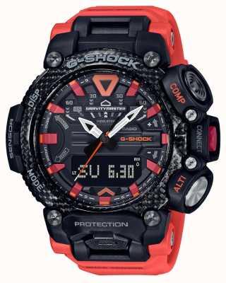 Casio G-Schock | Schwerkraftmeister | Kohlenstoffkern | Bluetooth | Orange GR-B200-1A9ER