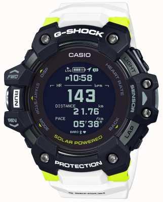 Casio G-Schock | g-Squad | Herzfrequenzmesser | Bluetooth | weiß | GBD-H1000-1A7ER