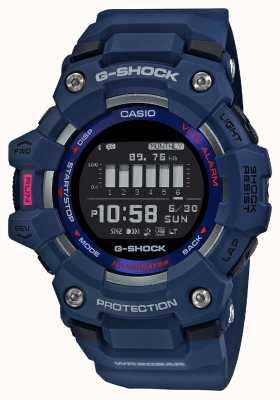 Casio G-Schock | g-Squad | Steptracker | Bluetooth | Blau GBD-100-2ER