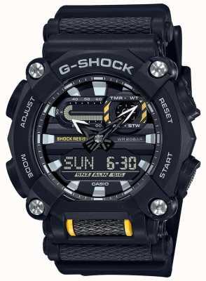 Casio G-Schock | schwere | Weltzeit | schwarzes Harz GA-900-1AER