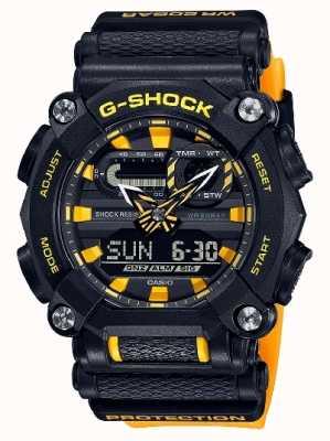 Casio G-Schock | ltd edition | schwere | Weltzeit | Gelb GA-900A-1A9ER