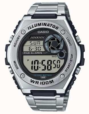 Casio Digital | Illuminator | Edelstahl | MWD-100HD-1AVEF