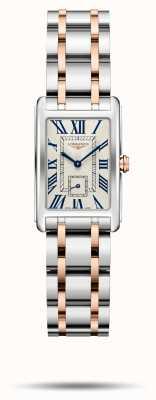 Longines Dolcevita Eleganz zweifarbige Armband Frauen L52555717