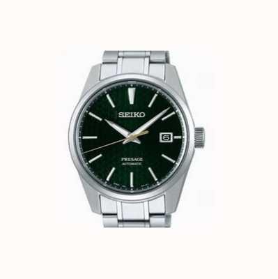 Seiko Presage | automatisch | grünes Zifferblatt | rostfreier Stahl SPB169J1