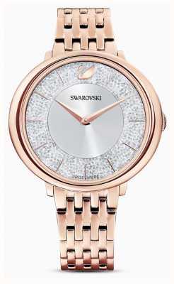 Swarovski Kristallin | rosévergoldetes Stahlarmband | Glitzerzifferblatt 5544590