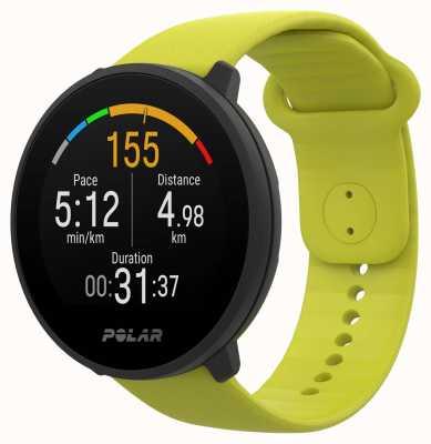 Polar | vereinigen | lindgrünes Silikonband | schwarzer Fall | 90083111