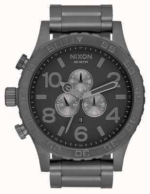 Nixon 51-30 chrono | alles Rotguss | Armband aus Rotgussstahl | Rotguss Zifferblatt A083-632-00