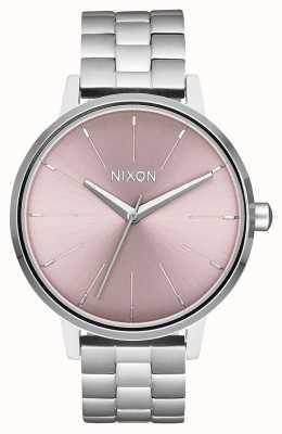 Nixon Kensington | Silber / blasser Lavendel Edelstahlzifferblatt A099-2878-00