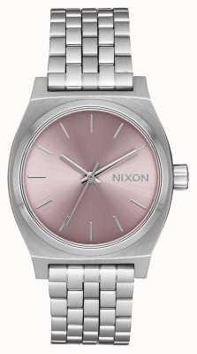Nixon Mittelzeitzähler | Silber / blasser Lavendel Edelstahlarmband | A1130-2878-00