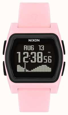 Nixon Rivale | pink / schwarz | digital | rosa silikon strao A1236-2531-00