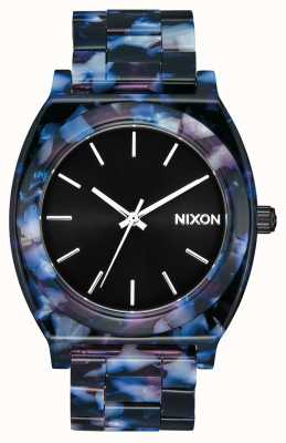 Nixon Zeitzähleracetat | schwarz / multi | schwarzes Zifferblatt A327-2336-00